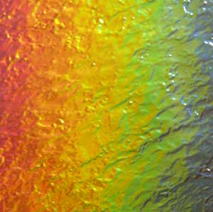 90 Rainbow 2 Dichroic on Granite Glass