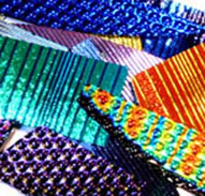 90 Dichroic Glass Scrap Pack All Thin Texture