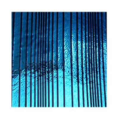 90 Yellow Blue Dichroic on Accordian Thin Glass