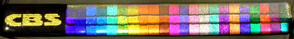 CBS Dichroic Glass Fused Color Bar