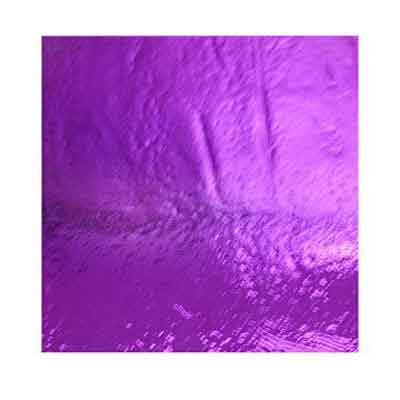 90 Crinklized Green Magenta Dichroic on Thin Glass