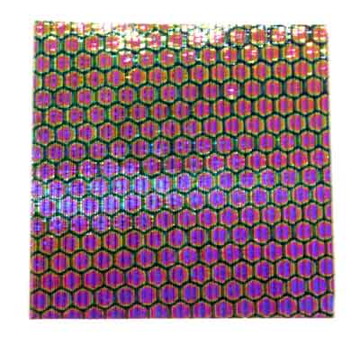 Honeycomb Dichroic on Reed Thin Glass