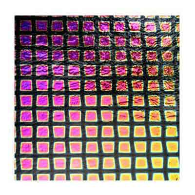 90 Square 3 Dichroic on Thin Glass